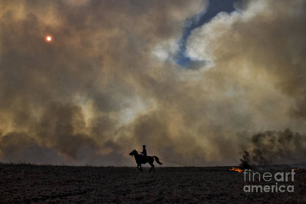 Photograph - Draggin' Fire by Crystal Nederman