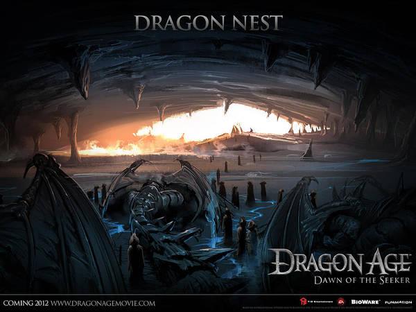 City Digital Art - Dragon Age by Super Lovely