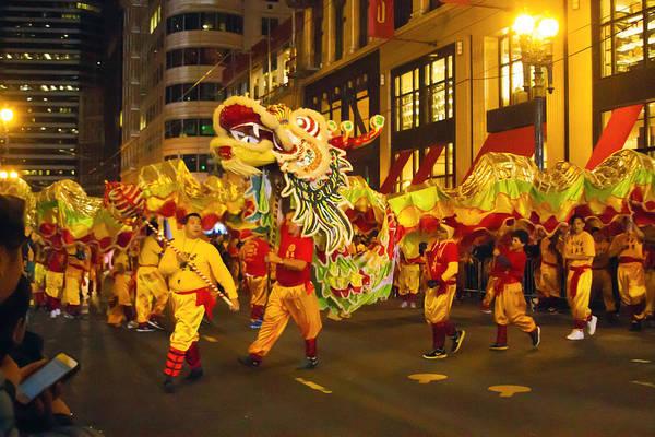 Photograph - Dragon Dance by Bonnie Follett