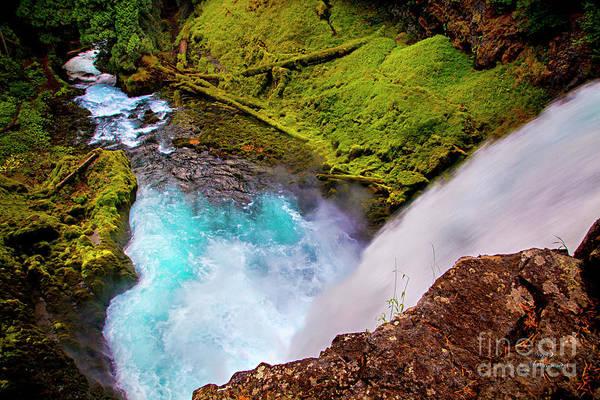 Photograph - Dragon Falls by David Millenheft