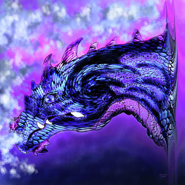 Digital Art - Dragon Fantasy by Artful Oasis