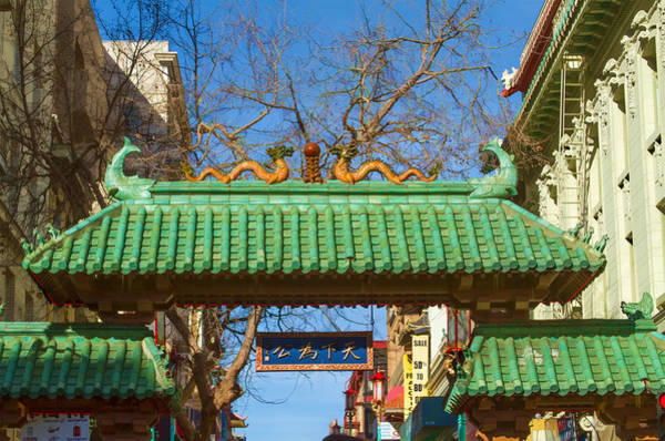 Photograph - Dragon Gate To Chinatown San Francisco by Bonnie Follett