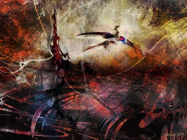 Digital Art - Dragon Realms Vii by Stefano Popovski