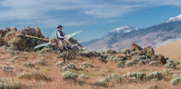 Digital Art - Dragon Rider by Rick Mosher