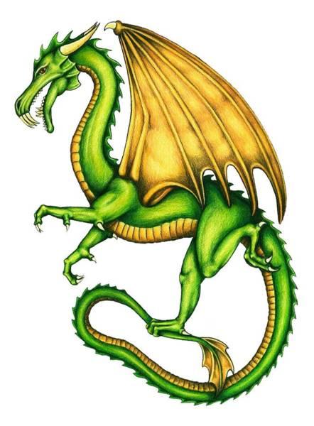 Magical Drawing - Dragon by Sheryl Unwin