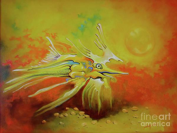 Painting - Dragonfish by Alexa Szlavics