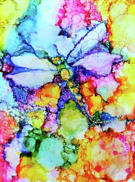 Wall Art - Painting - Dragonfly by Debi Starr