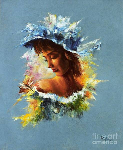 Painting - Dragonfly by Igor Postash