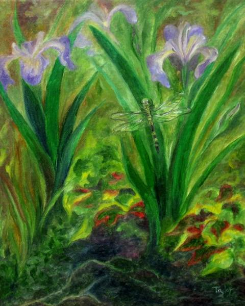 Painting - Dragonfly Medicine by FT McKinstry