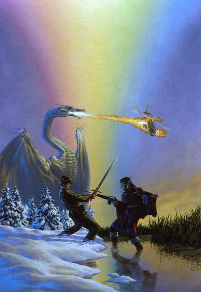 Summoning Wall Art - Painting - Dragonrank Master by Richard Hescox