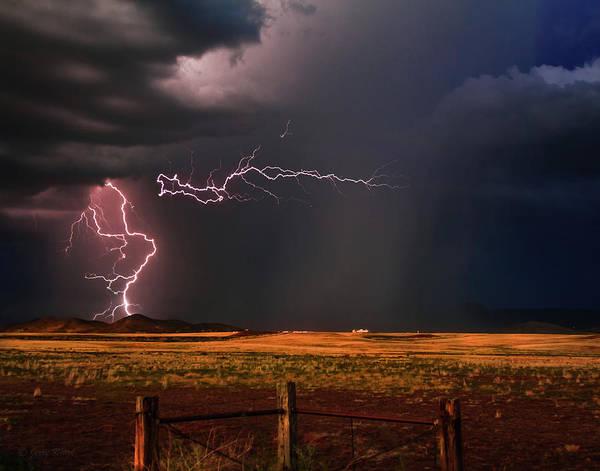 Monsoon Photograph - Dragon's Lair by Medicine Tree Studios