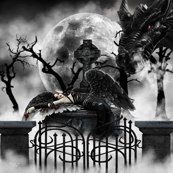 Digital Art - Dragons Sacrifice by Artful Oasis