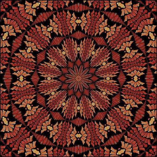Digital Art - Dragonspur K12 Floral-5 by Doug Morgan