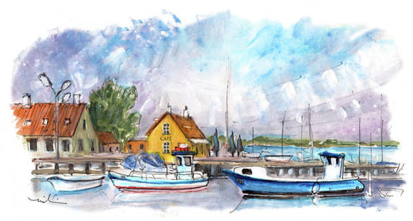 Painting - Dragor Panoramica 03 by Miki De Goodaboom