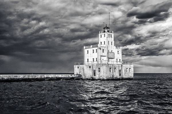 Coast Guard House Photograph - Drama In The Clouds by CJ Schmit
