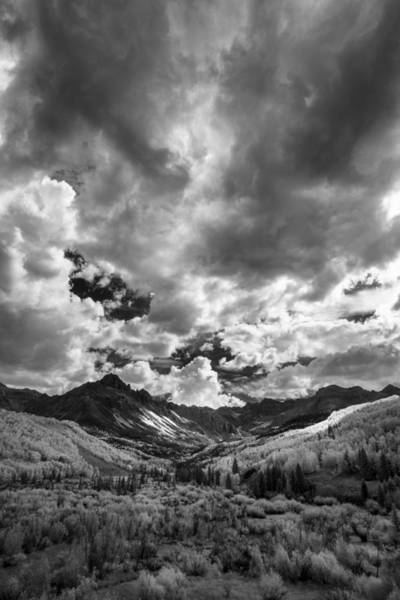 Wall Art - Photograph - Drama In The Colorado Clouds by Jon Glaser