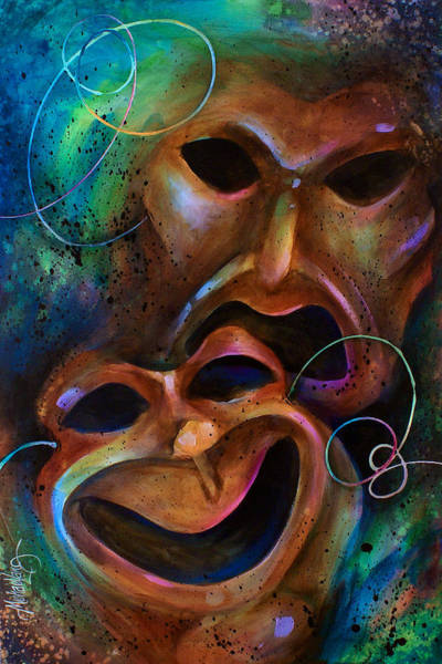 Tragedy Painting - Drama by Michael Lang