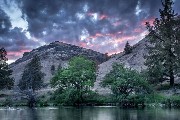 Wall Art - Photograph - Drama On The Lower Deschutes River by Jeffrey Green