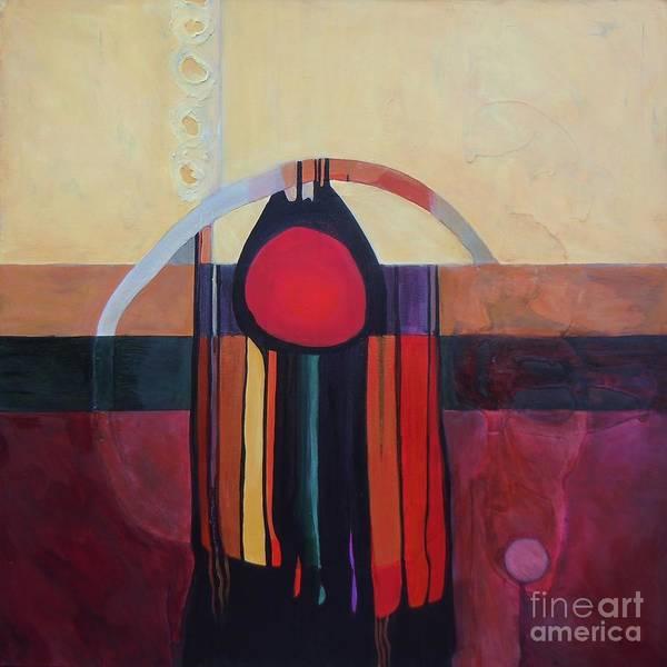 Painting - Drama Resolved by Marlene Burns