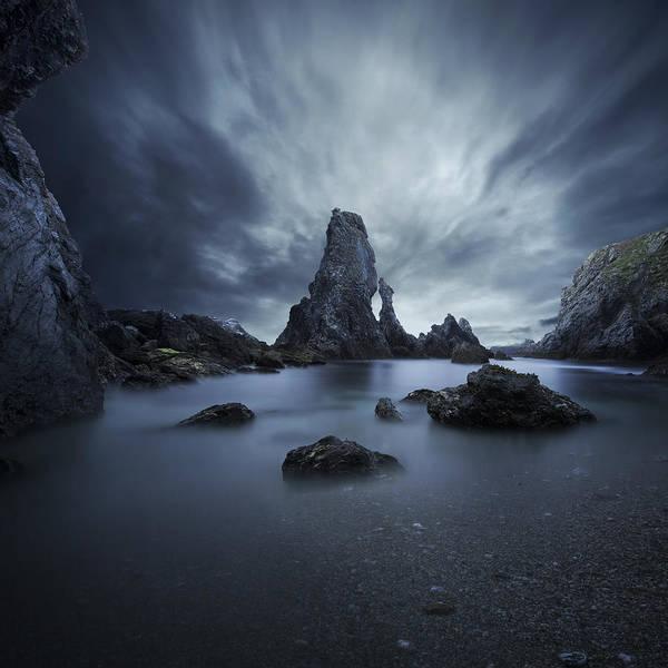 Dark Clouds Photograph - Drama by Sebastien Del Grosso