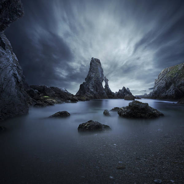 Dark Sky Photograph - Drama by Sebastien Del Grosso