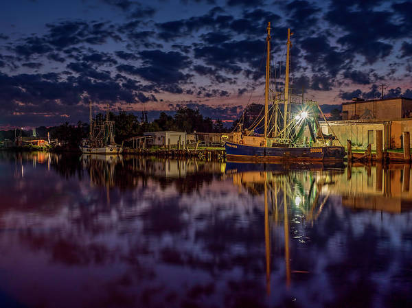 Photograph - Dramatic Bayou Scene At Dusk by Brad Boland
