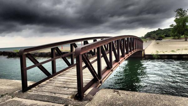 Photograph - Dramatic Bridge by Susan Jensen