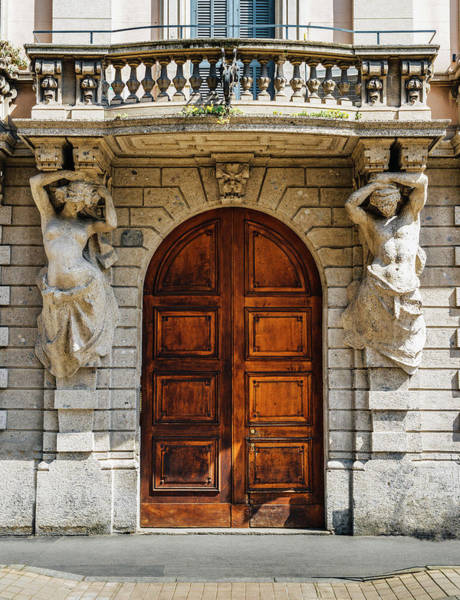 Photograph - Dramatic Classical Entrance by Alexandre Rotenberg