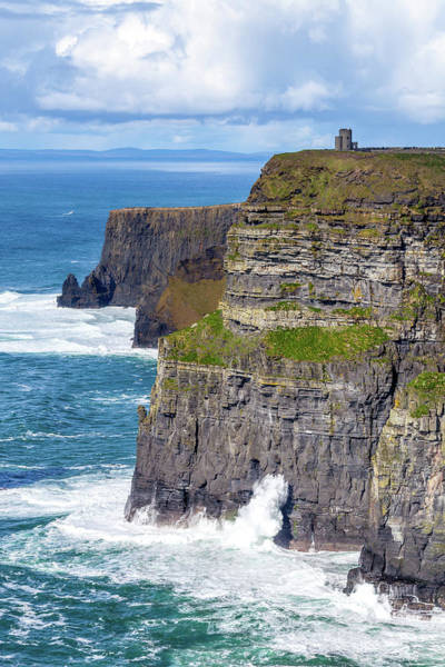 Moher Photograph - Dramatic Irish Coastline by W Chris Fooshee