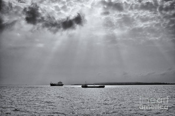 Photograph - Dramatic Light Through Clouds by Clayton Bastiani