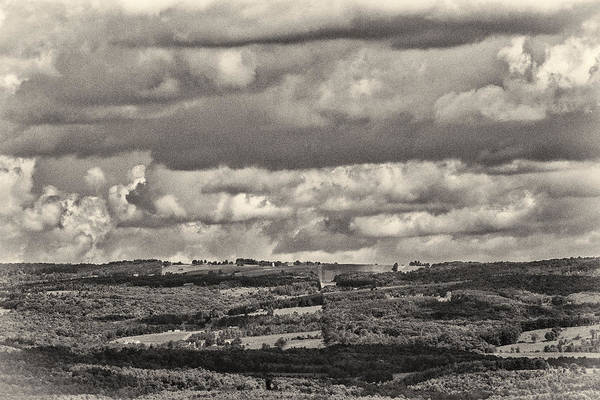 Photograph - Dramatic Monochrome Vista by Nancy De Flon