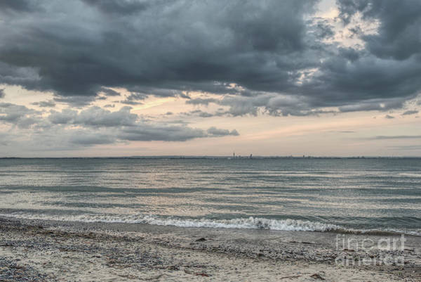 Photograph - Dramatic Sky Towards Portsmouth 001 by Clayton Bastiani