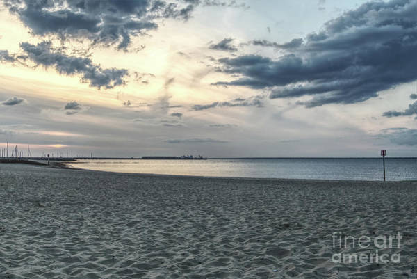 Photograph - Dramatic Sky Towards Portsmouth 002 by Clayton Bastiani