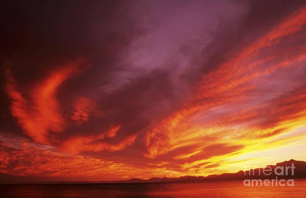 Expanse Photograph - Dramatic Sunset by Larry Dale Gordon - Printscapes