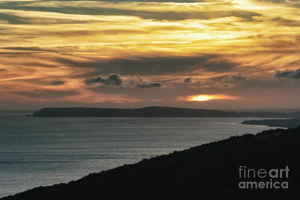 Photograph - Dramatic Sunset Over Freshwater 002 by Clayton Bastiani