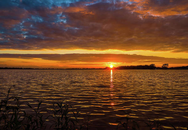 Photograph - Dramatic Sunset Reflection by Dan Sproul