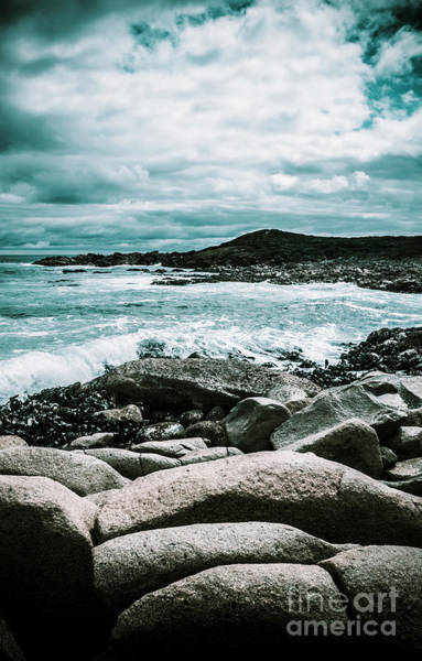 Shore Photograph - Dramatic Western Tasmania Beach by Jorgo Photography - Wall Art Gallery