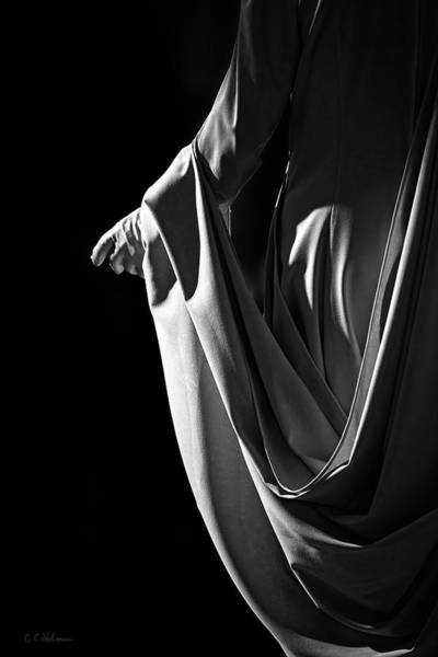 Photograph - Draped B-w by Christopher Holmes