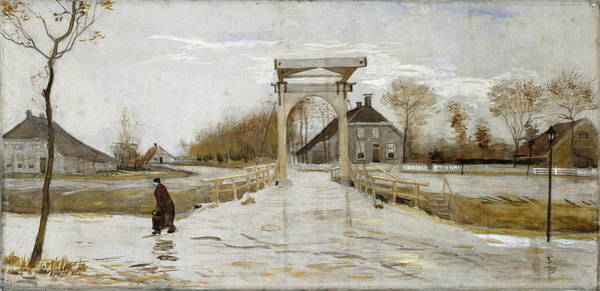 Wall Art - Painting - Drawbridge In Nieuw-amsterdam, 1883 by Vincent Van Gogh