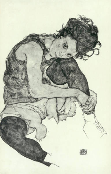 Tits Painting - Drawings I by Egon Schiele