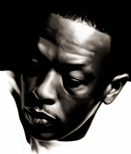 Wall Art - Painting - Dre by Laurence Adamson