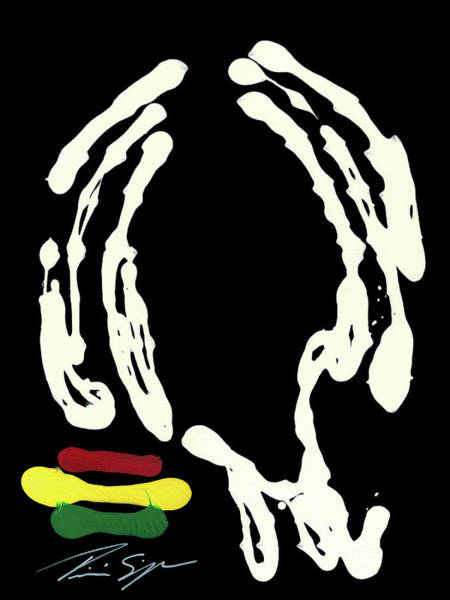 Rasta Painting - Dread  by Tricia Simpson
