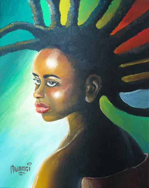 Rasta Painting - Dreadlocks Rasta by Anthony Mwangi