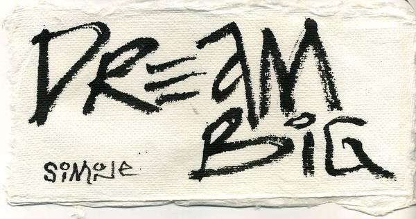 Primal Painting - Dream Big by Simone Frank