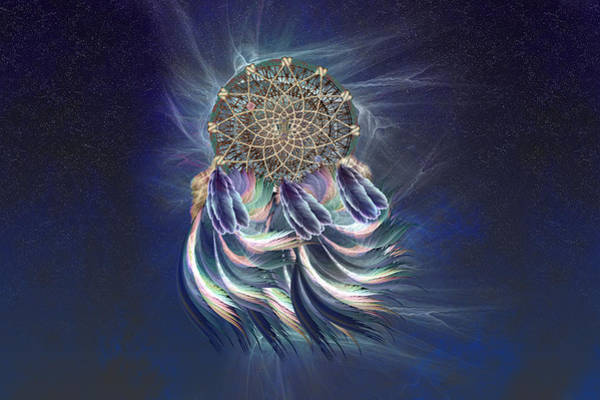 Wall Art - Digital Art - Dream Catcher by Carol and Mike Werner