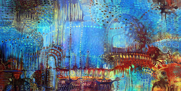 Surrealistic Painting - Dream Keeper by Lolita Bronzini
