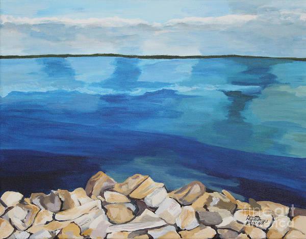Painting - Dream Lake by Annette M Stevenson
