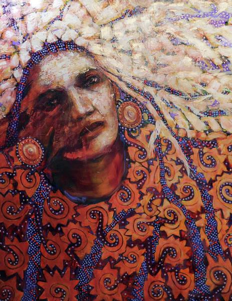 Dream Messenger-ancient Sun Art Print