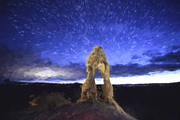 Digital Art - Dream Of Arches II by Jon Glaser
