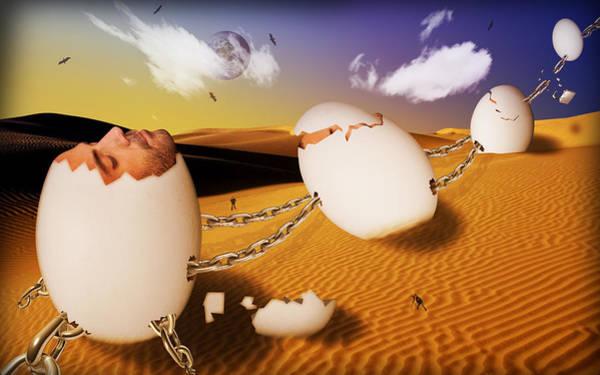 Wall Art - Digital Art - Dream Of Desert  by Mark Ashkenazi